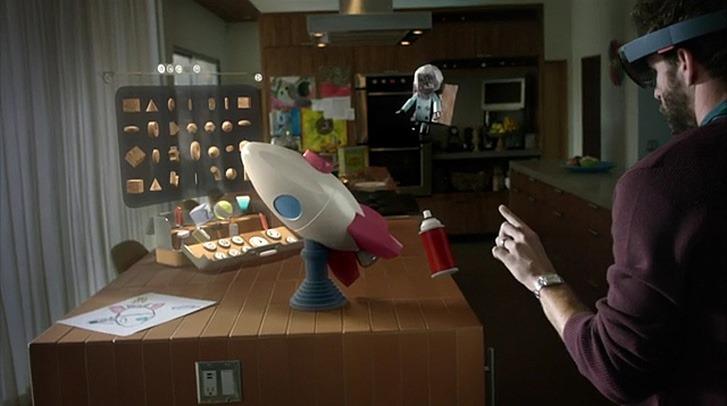 La réalité augmentée avec Microsoft et le projet HoloLens