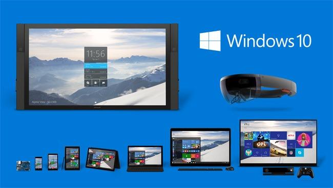 L'écosystème promis pour Windows 10