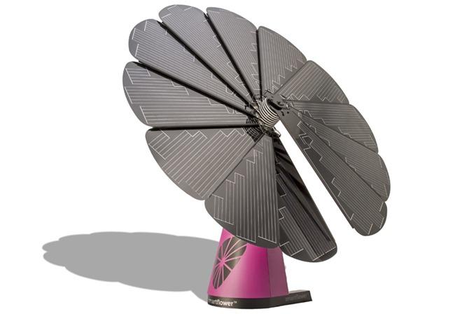 un tournesol photovolta que dans votre jardin edf enr lance le premier g n rateur solaire. Black Bedroom Furniture Sets. Home Design Ideas