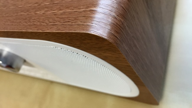 Le coffret bois avec la finition placage