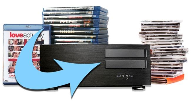 Copie et rip de disque DVD et Blu-ray