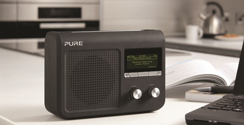 pure one flow un petit poste radio portable avec triple