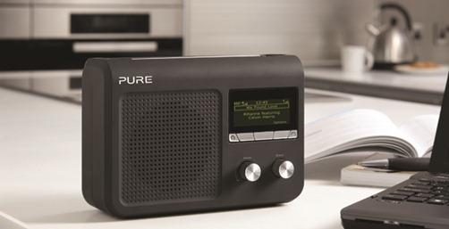 Poste de radio numérique portable DAB RNT web wifi fm sur batterie