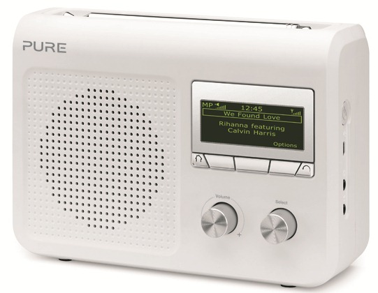 pure one flow un petit poste radio portable avec triple tuners dab rnt fm et internet wifi. Black Bedroom Furniture Sets. Home Design Ideas