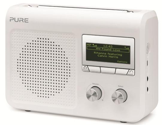 Pure One Flow, poste de radio numérique interne, radio numérique terrestre et fm