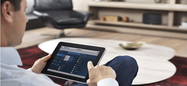 naviguer dans son audiothèque numérique avec un iPad