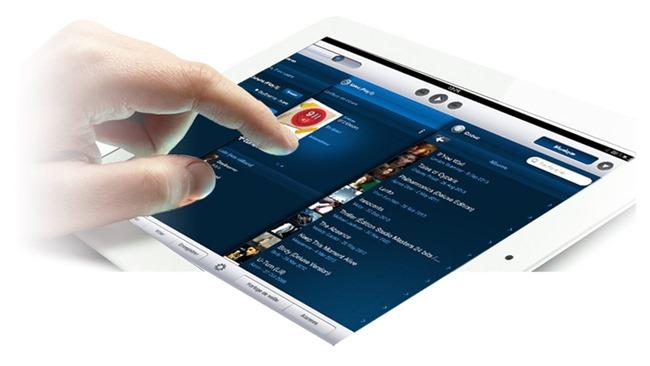 Naviguez dans ses musiques depuis l'appliaction sur iPad