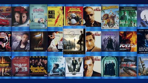 Gérer tous ses films dvd, blu-ray, fichiers sur le Media Center