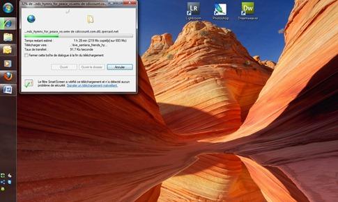 windows7-barre tache-internet explorer