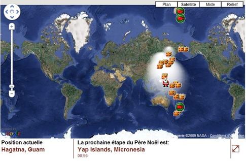 carte-pere-noel-google-earth