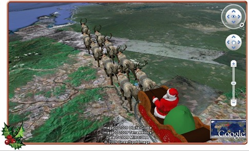 pere-noel-google-earth