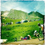 iPhone photos Tour de France