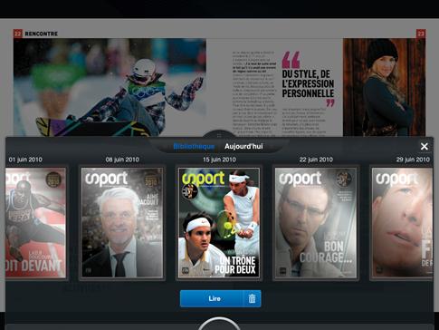 Sport sur iPad