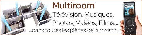 Diffusez ses médias dans sa maison : télévision, musique, photos, vidéos, internet - Multiroom