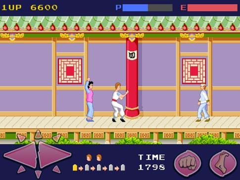 Kung Fu Master iPhone iPad