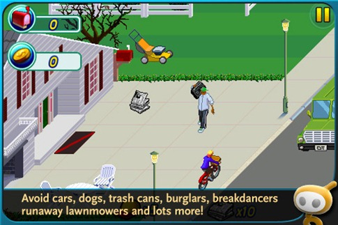 paperboy sur iphone