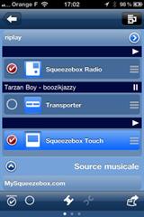 Synchroniser des Squeezebox pour le multiroom