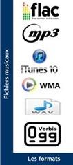 Les formats des fichiers musique