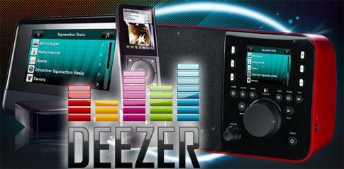 Ecouter Deezer sur un poste de Radio WiFi
