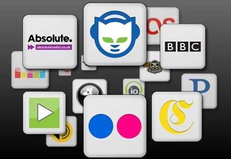 Ajouter des services de musique sur la Squeezebox