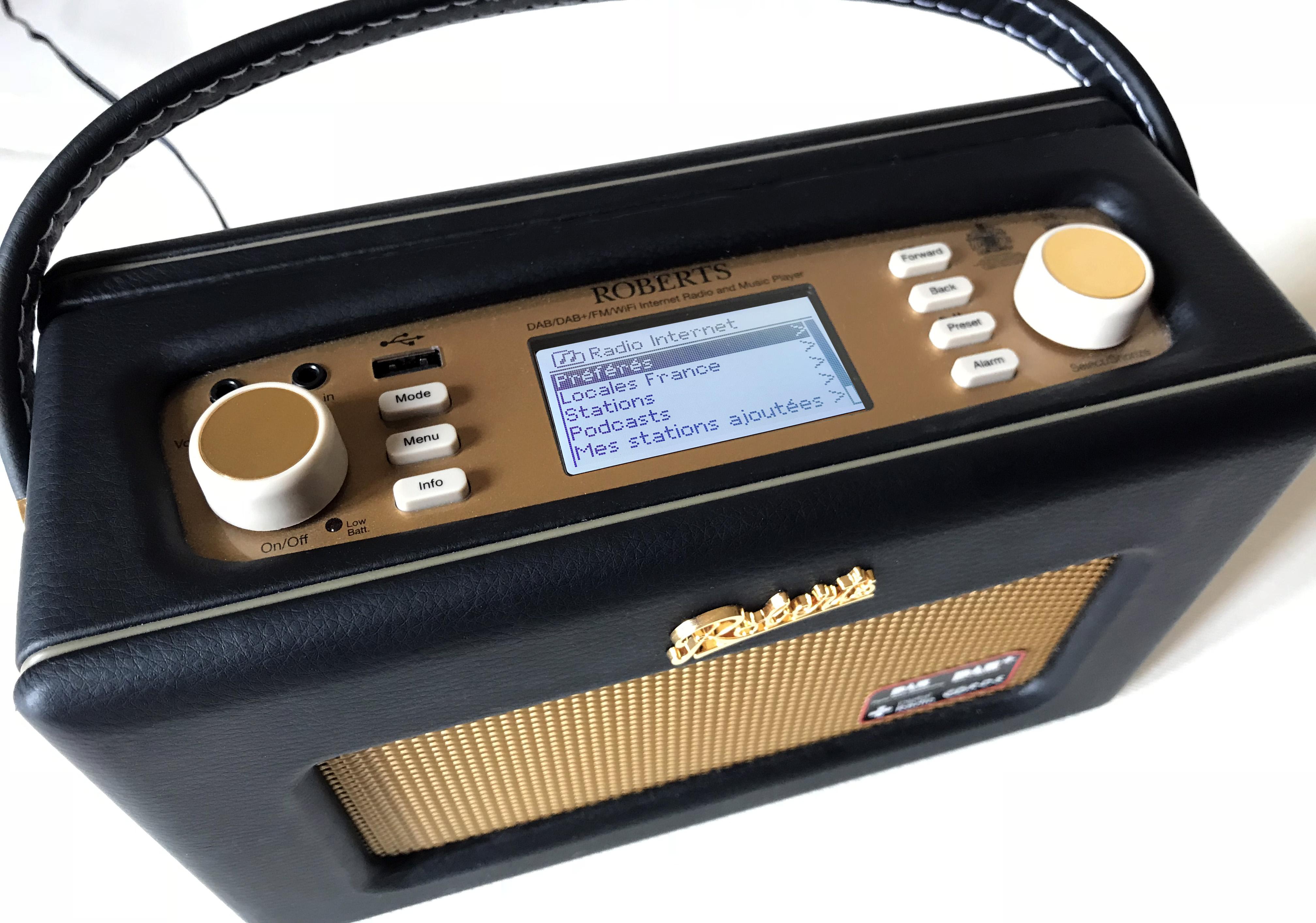 Test du poste de radio numérique iStream 2 Revival de Roberts avec son triple tuner radio FM, DAB+ et Internet