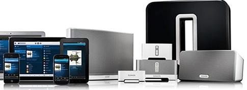 Musique sans fil et multiroom audio Sonos pour de la musique dans toutes les pièces