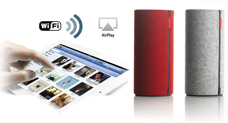 enceinte wifi airplay sans fil libratone
