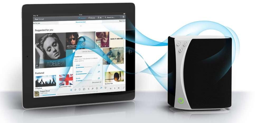 Enceinte sans fil Wifi Jongo S3 pour tablette tactile et smartphone