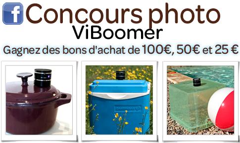Concours photo Viboomer - Gagnez des bons d'achat
