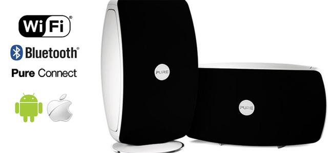 Pure Jongo Enceinte sans fil en wifi et bluetooth  pour le multiroom