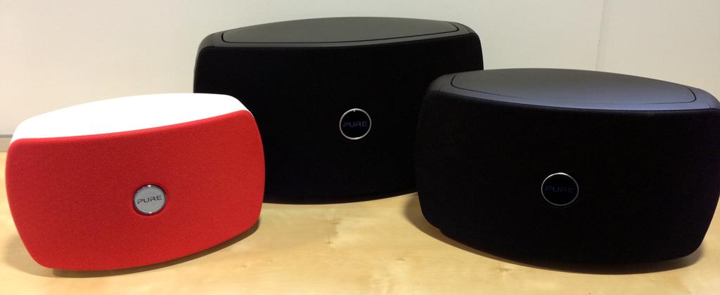 Enceintes sans fil WiFi et Bluetooth Pure Jongo T2, T4, T6