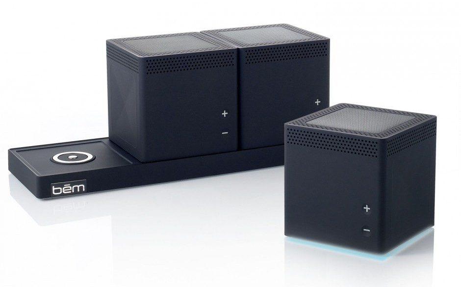 Ecouter sa musique en Bluetooth et en simultané sur plusieurs enceintes sans fil avec le Bem Trio Speaker