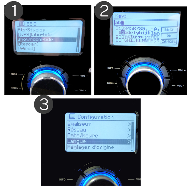 Configuration WiFi du poste de radio Scansonic IN-300