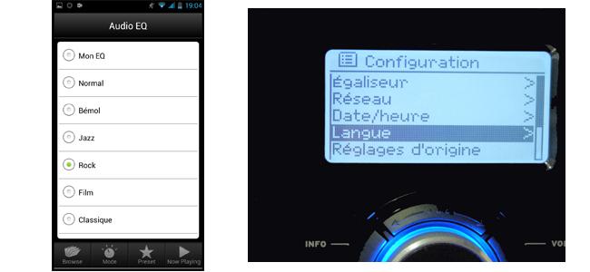 Configurer le son de son poste de radio WiFi Scansonic