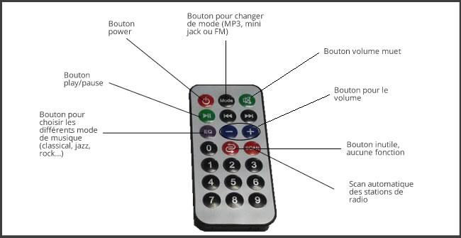 Télécommande ViBoomer 20W