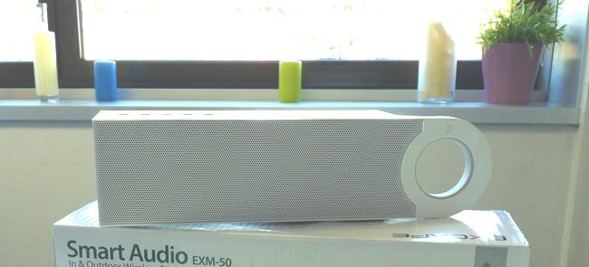 Enceinte sans fil Bluetooth avec FM EXM-50