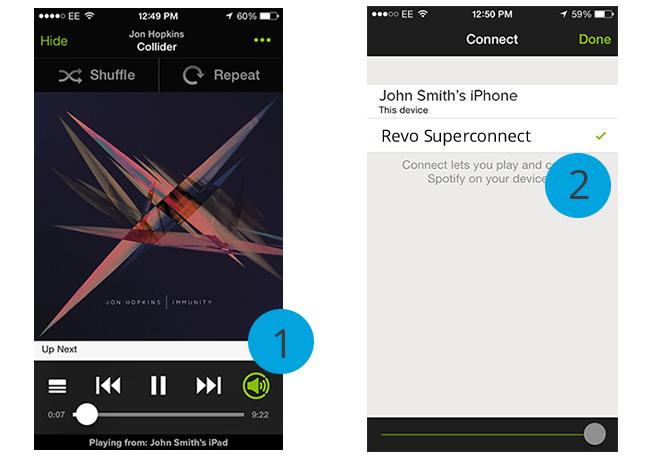 Ecoutez Spotify sur votre chaîne HiFi ou sur une enceinte