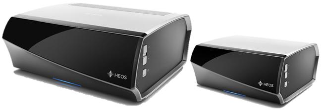 Lecteur réseau Denon Heos pour enceintes amplifiées ou passives