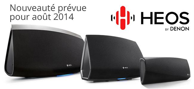 Multiroom audio : Denon arrive sur le marché