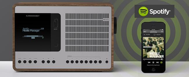 Test du poste de radio haut de gamme Revo Superconnect - triple tuner : FM / DAB / WEB