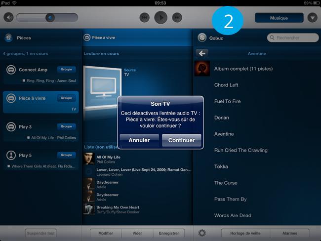 Test home-cinéma sans fil WiFi de Sonos