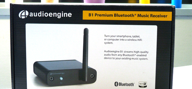 Récepteur Bluetooth pour chaîne HiFi test d'Audioengine B1