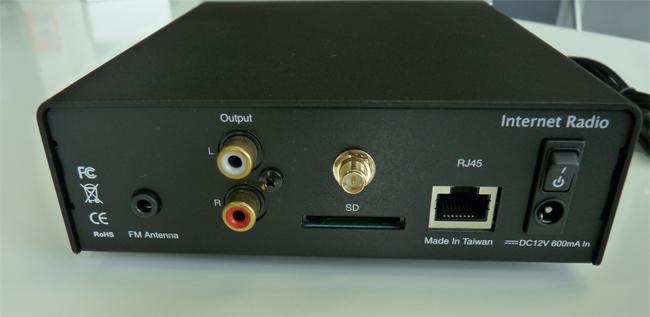 Adaptateur pour chaîne HiFi pour écouter les radios web