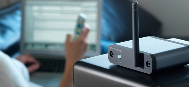 Récepteur Bluetooth Audioengine B1 avec DAC intégré& et Bluetooth apt-X