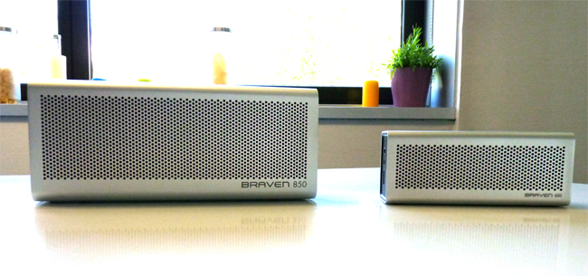 Test de l'enceinte Bluetooth Braven 850 bluetooth apt-X