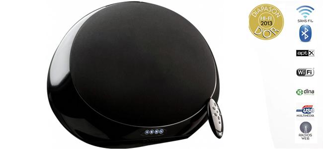 enceinte sans fil wifi et bluetooth haute fid lit et 360