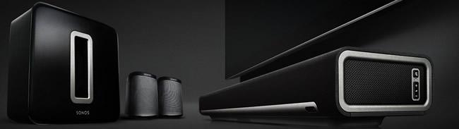 Installation Home cinéma sans fil Sonos