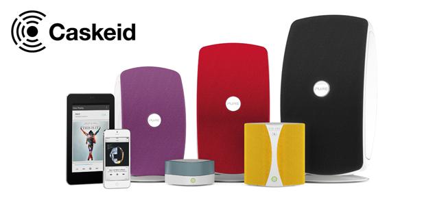 Ecouter tous les sites de streaming en multiroom avec Bluetooth Caskeid