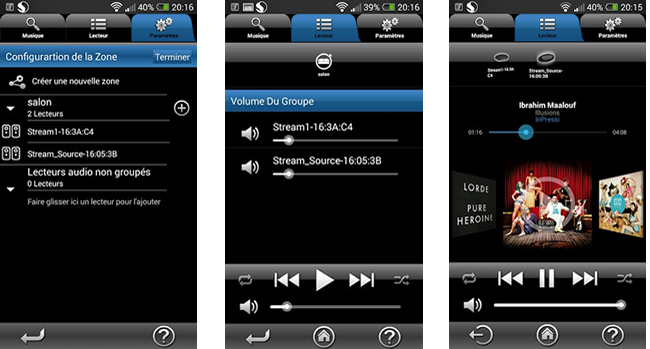 Application pour smartphone ou tablette Cabasse