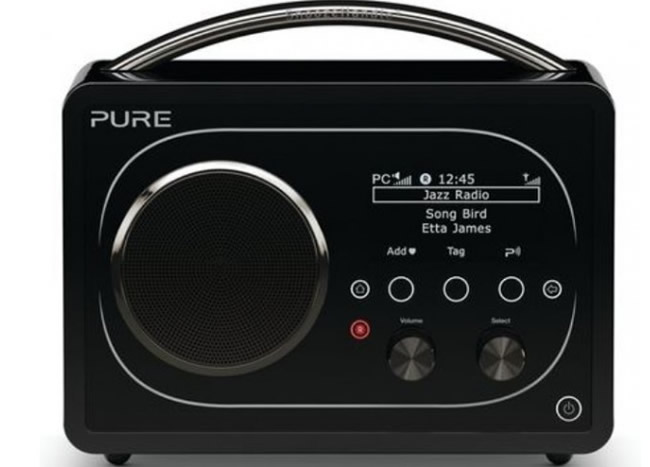 Poste de radio Web Pure Evoke F4 Bluetooth et WiFi